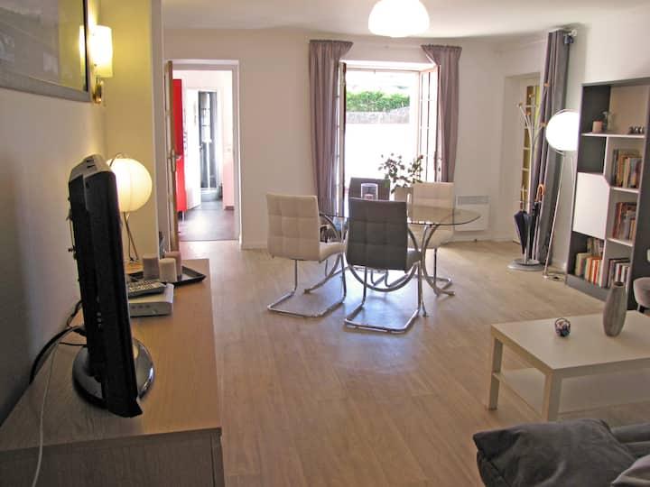 Bel appartement sur Côte normande