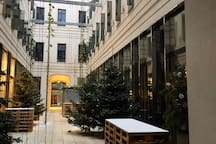 Labstelle Restaurant Passage, a beautiful secret passage taking you to Lugeck Square.
