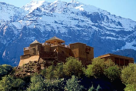 Kasbah du Toubkal Morocco - Castle