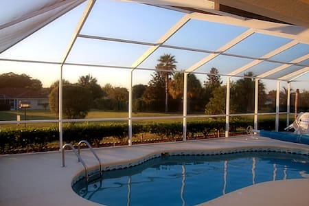 Luxury villa with solar heated pool - Inverness