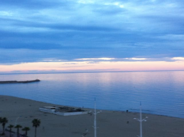 Seafront, great 180° panoramic view - Canet-en-Roussillon - Wohnung