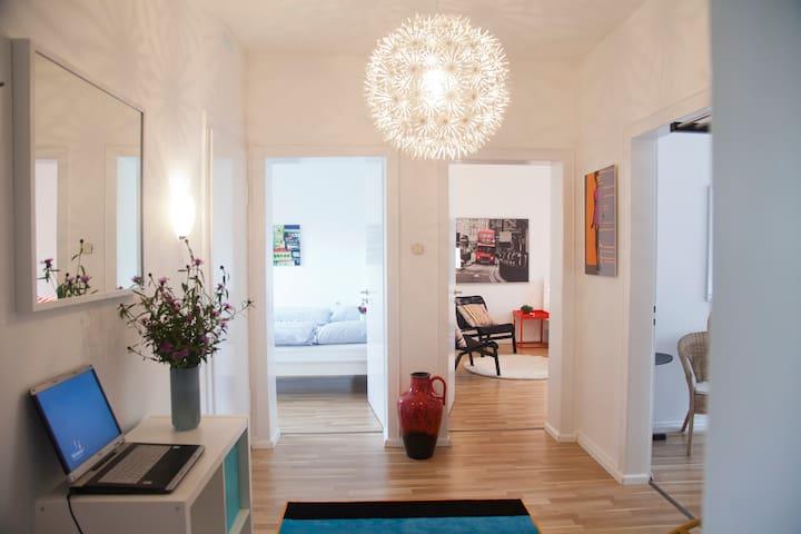 Zentrale & charmante Ferienwohnung - Münster - Apartamento