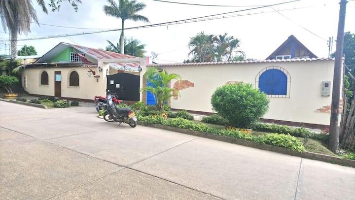 Villas Leon, su hogar en el Amazonas colombiano