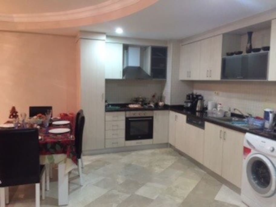 Kitchen with all necessary facilities