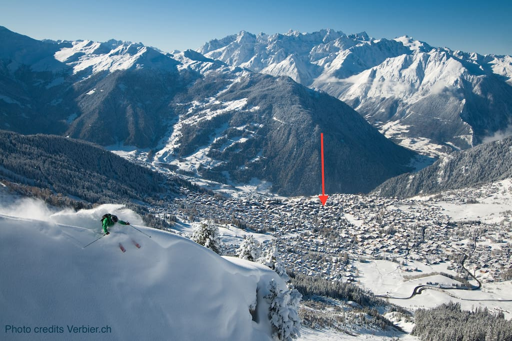 You will be right here in Verbier!