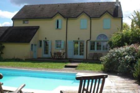 Maison de bois avec piscine - Mellecey
