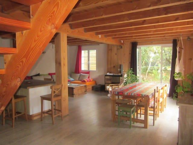 Belle maison écologique près océan