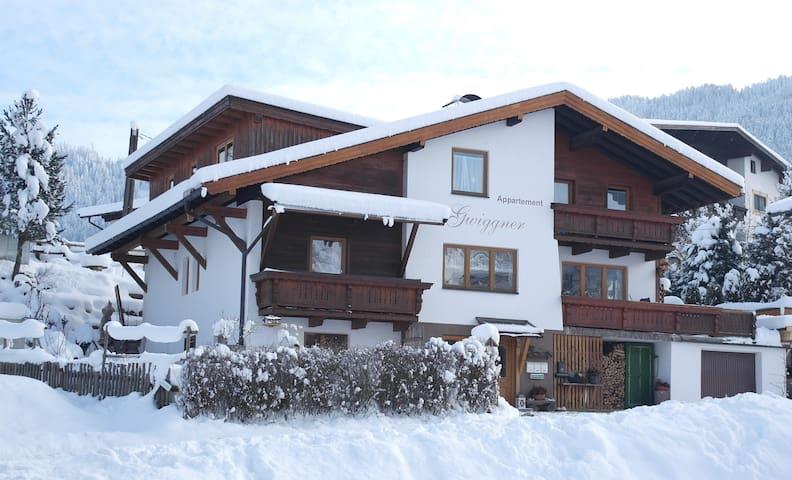 Appartement mit Terrasse - Wildschönau