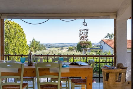 Relax and panoramic villa