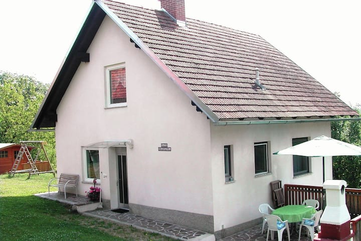 Holiday Home in Paldau with Balcony, Terrace, Garden,Parking