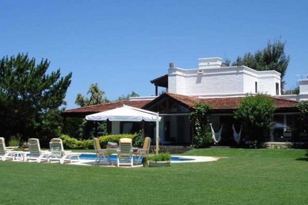 House, Pool & Garden