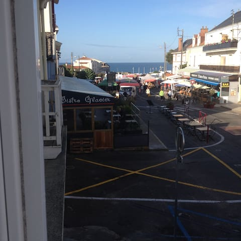 appartement vue mer sur l'ile du piler - Préfailles