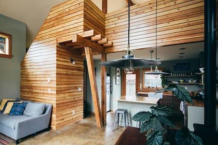 Handbuilt Alberta Arts Cottage