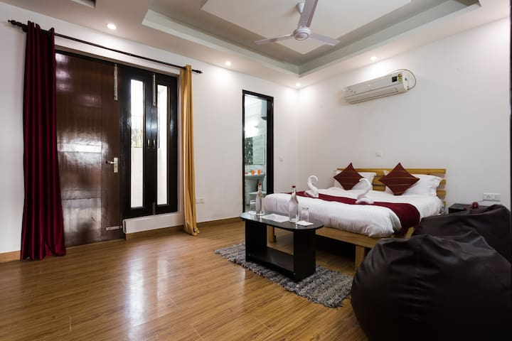Home for Peace Loving Travellers - 2BHK full AC