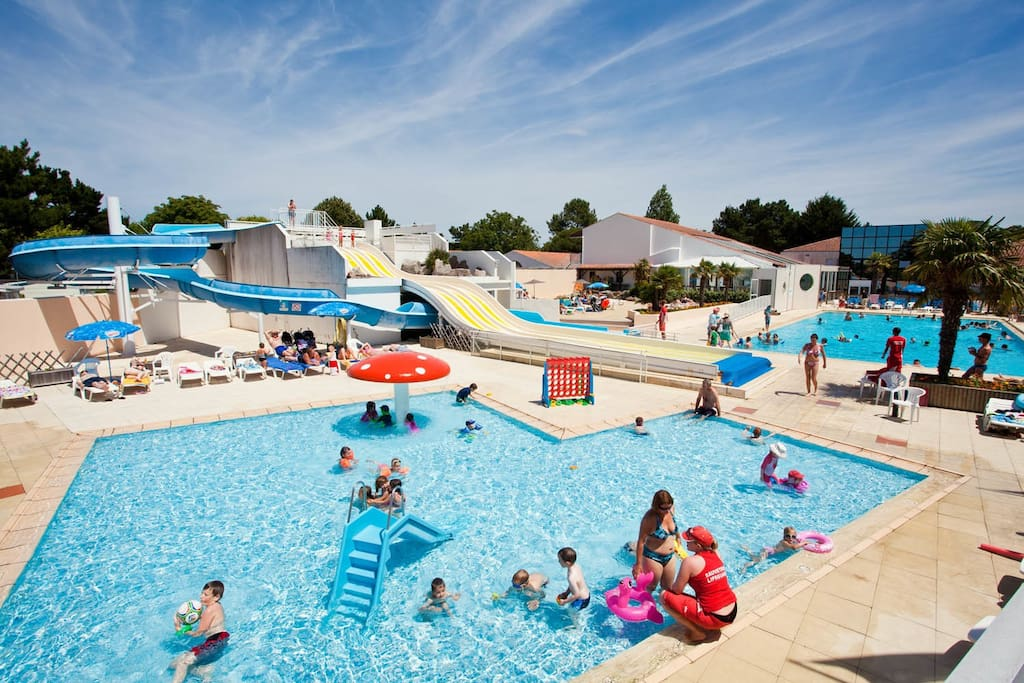 Mobilhome Camping Le Bois Masson 4 53 Houses for Rent in Saint Jean de Monts, Pays de la  # Camping Le Bois Joli St Jean De Monts