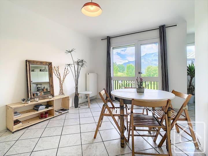 Appartement calme et lumineux avec balcon