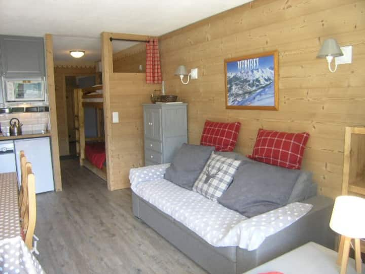 MERIBEL VILLAGE 4/6 pers, 35 m2
