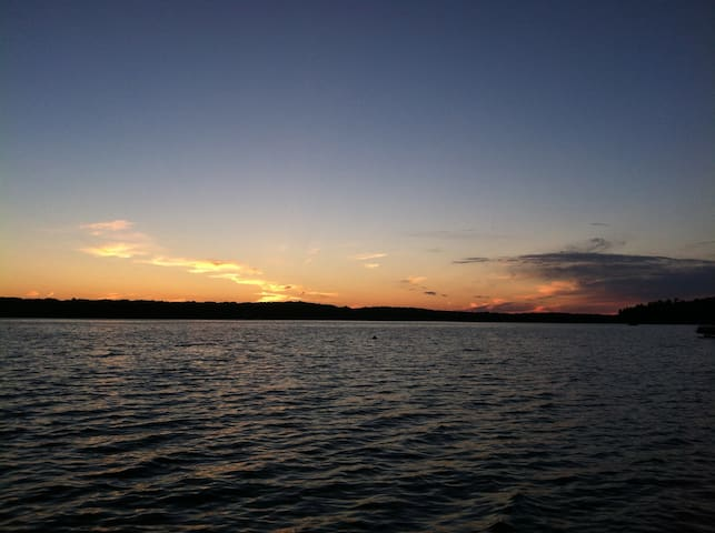 Come and enjoy this view every night of your trip.  Our sunsets can't be beat!