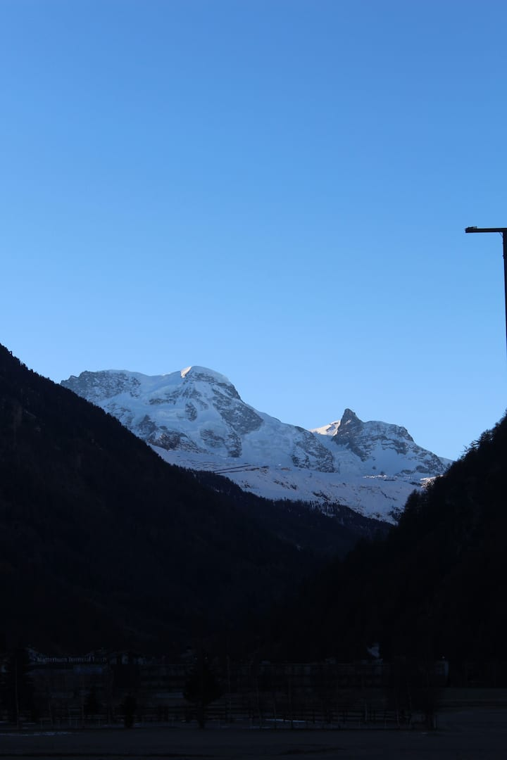 Günstig, nahe an der Metropole Zermatt