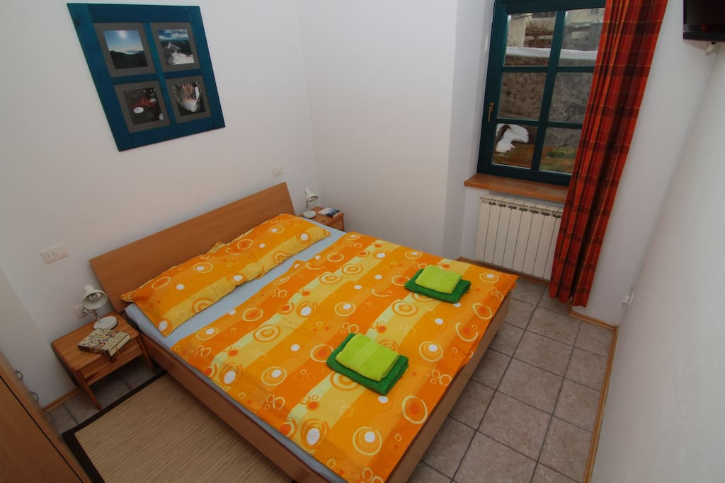 Apartments Bovec house - App Luka - bedroom