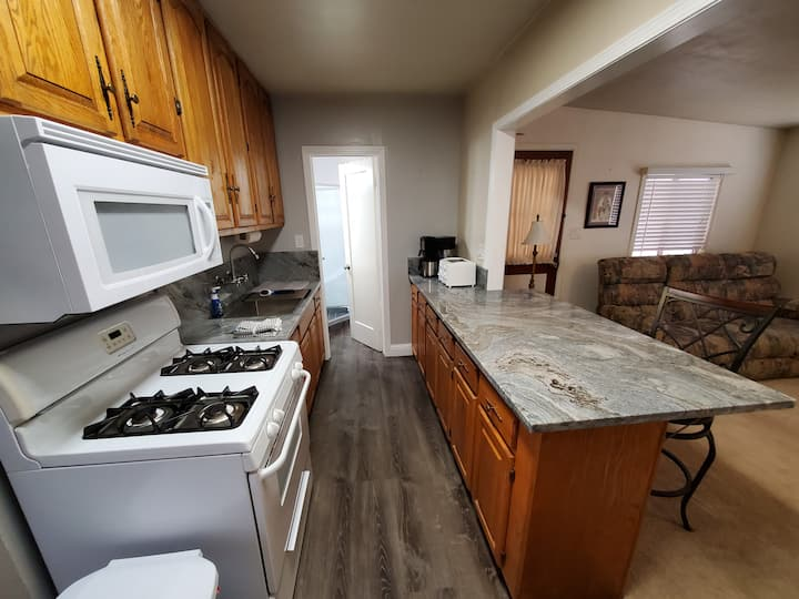 Private Furnished 2BD/1BA In-Law Suite.