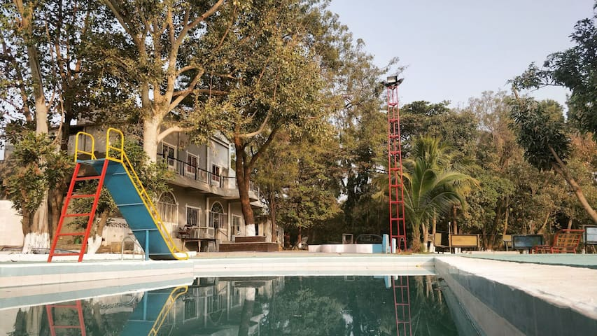 Farm Stay with Pool-The Best in Hyderabad