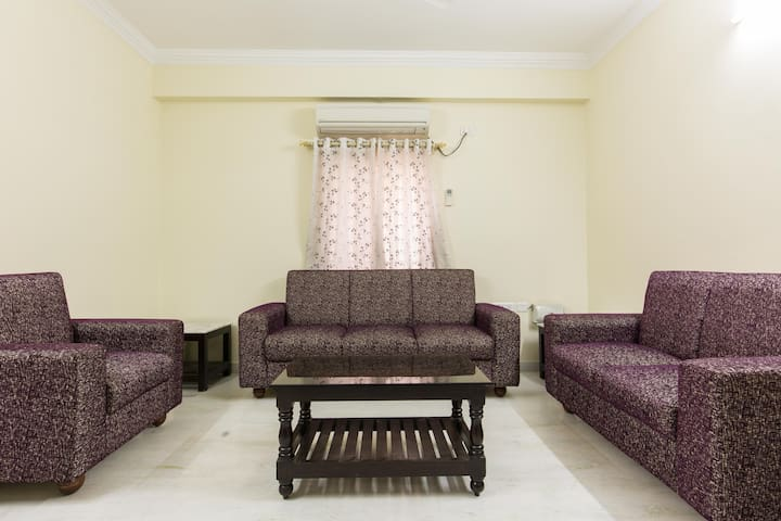 Luxury Private Room with Fully Furnished - Hyderabad - Leilighet