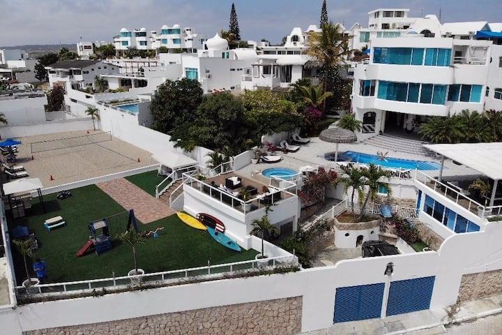 Espectacular exclusiva beach house  de lujo
