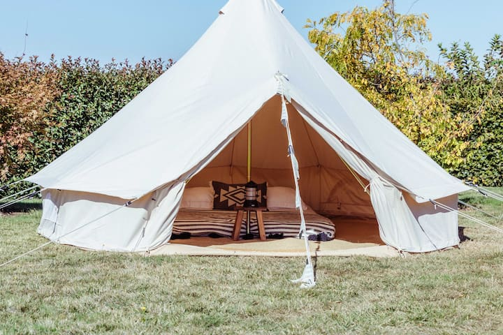 Glamping - No other people - Private property.