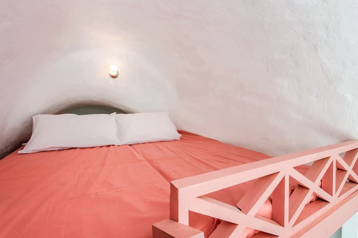 Attic double bed