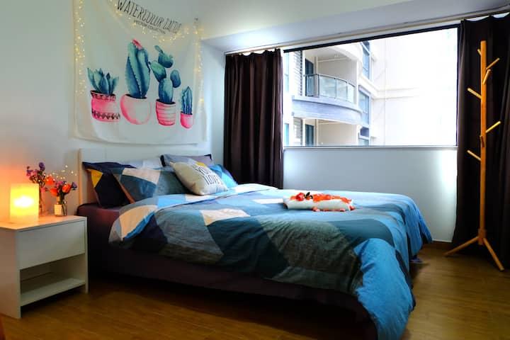 惠州十里银滩海边两室一厅整租壹家小屋