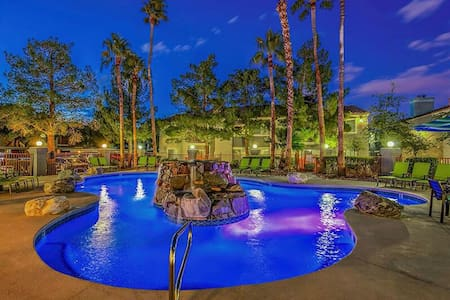 Relaxing 2/2 Minutes From The Strip/Airport
