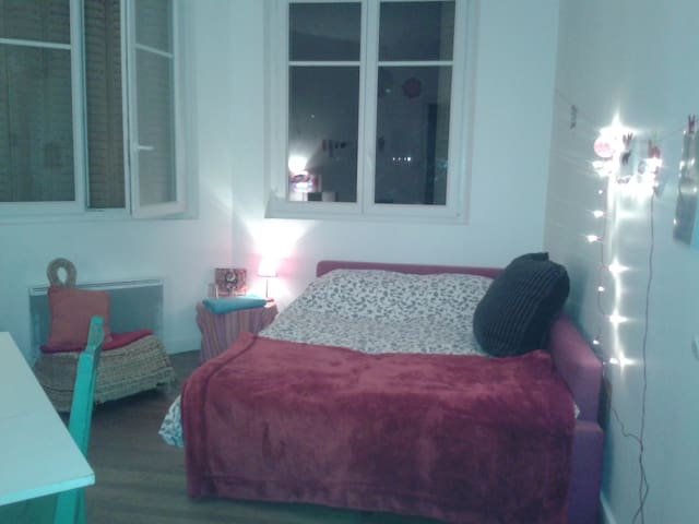 Chambre cosy et lumineuse - Grenoble - Wohnung