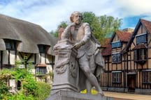 Stratford Upon Avon - Shakespeare birthplace / world class RSC theatre & by the river dining. Much ado about something :-) 17m