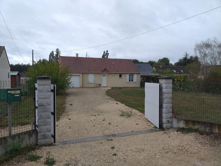 Gite de plain pied 3 chambres Chambord Cheverny