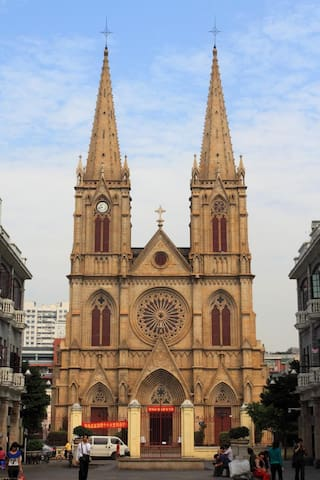 Sacred Heart Cathedral, largest Church in China
