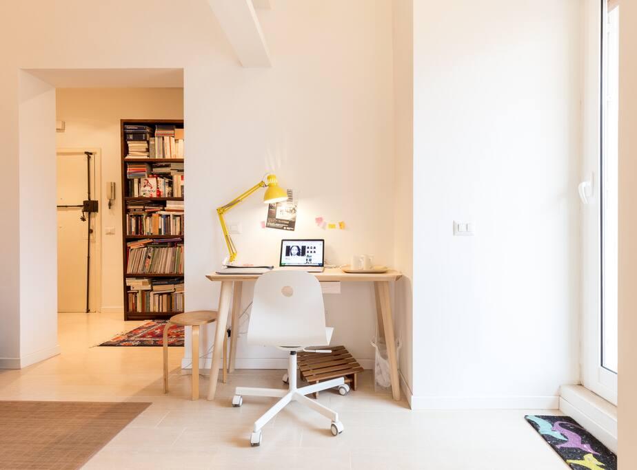 Comfortabel desk