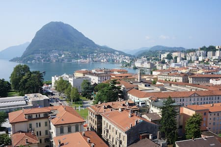 Stop and enjoy Lugano - in the center of Lugano - Aamiaismajoitus