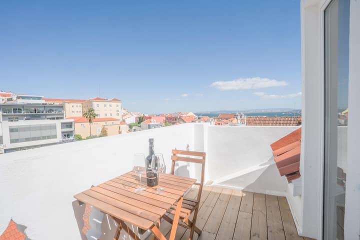 Rooftop Apartment Apartments For Rent In Lisboa Lisboa Portugal