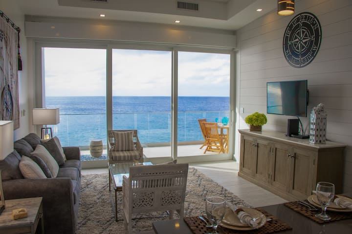 NEW CONTEMPORARY ONE BEDROOM OCEANFRONT CONDO
