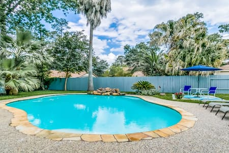 🏡 PRIVATE SWIM. POOL, WOODLANDS, LONG.STAY DISC-S
