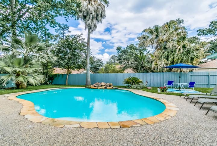 PETS ALLOWED, FAST WIFI, WOODLANDS,MEDICAL CENTERS