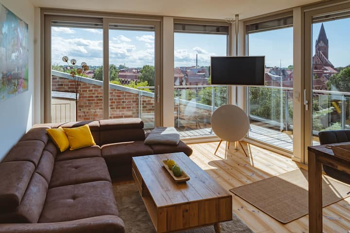Penthouse am Meer Barth