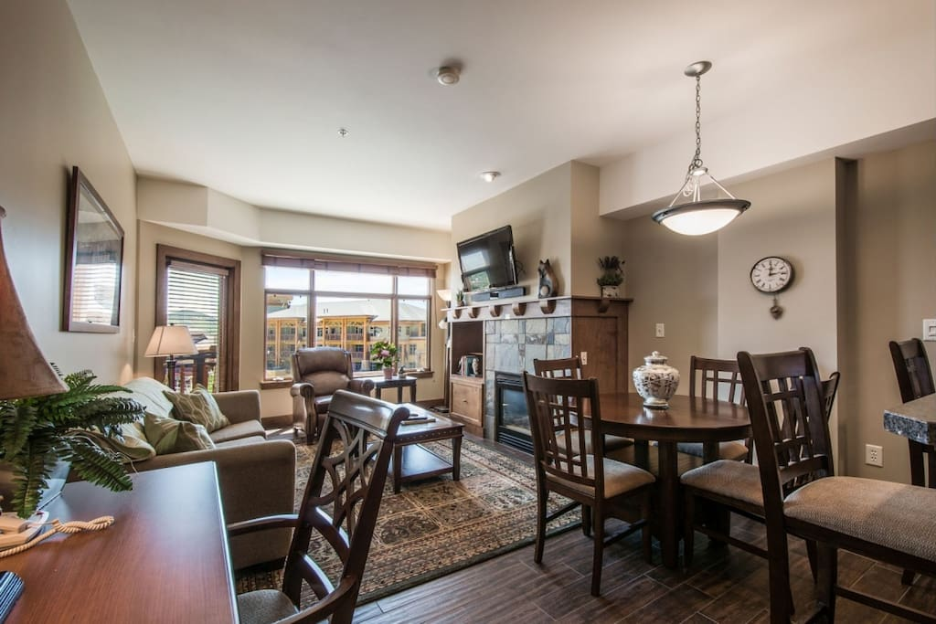 When you enter the home, you will immediately notice an open living area with great east-facing mountain views and a remodeled gourmet kitchen.