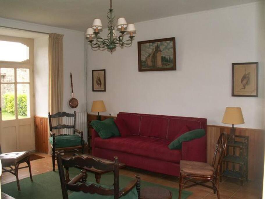 Autre vue du séjour / Other view of the living room