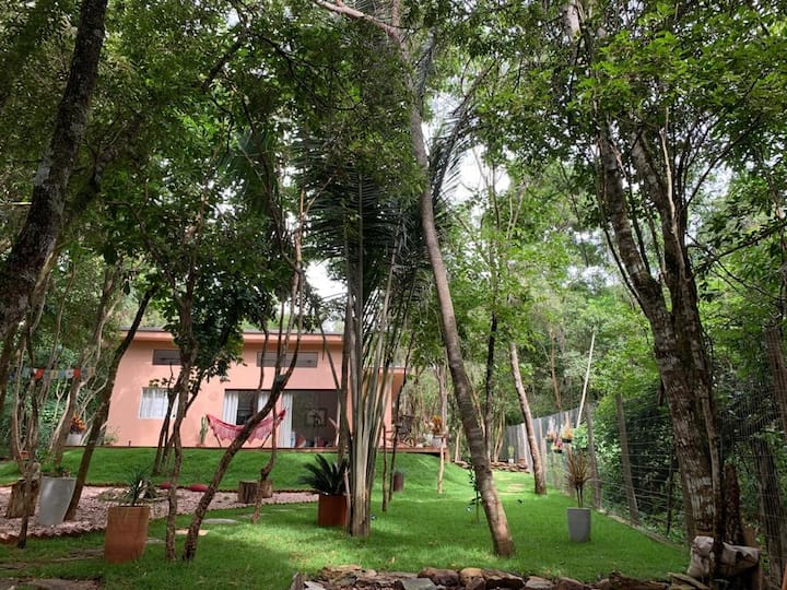 Casa Mango. Silêncio, paz, natureza