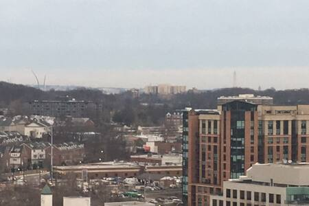 Spacious Apartment with View of the Monuments - Arlington