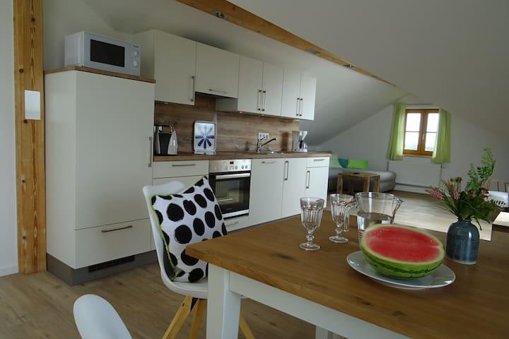 Ferienwohnung Weitblick - Gars am Inn - Apartamento