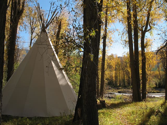 Wilderness B&B - Tipi with Double