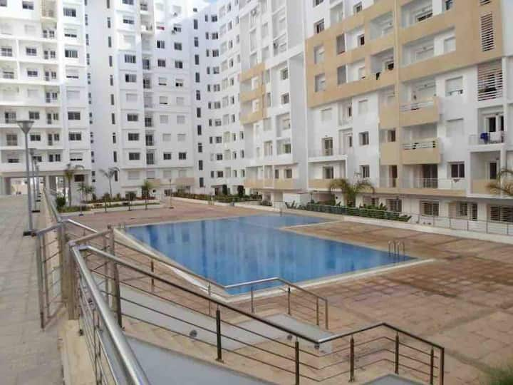 TheSuites ISLAN Apartments balcony piscine park